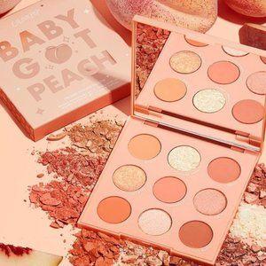 BNIB Colourpop Baby Got Peach Eye Shadow Palette